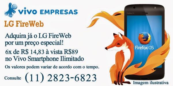 LG FireWeb da Vivo com o novo Firefox OS