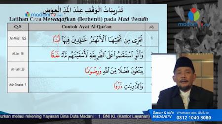 Frekuensi siaran Madani TV di satelit Palapa D Terbaru