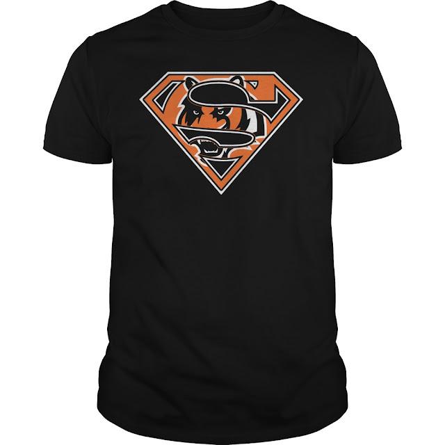 Cincinnati Bengals Superman Logo Shirt