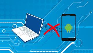 cara mengatasi kabel USB android tidak terbaca