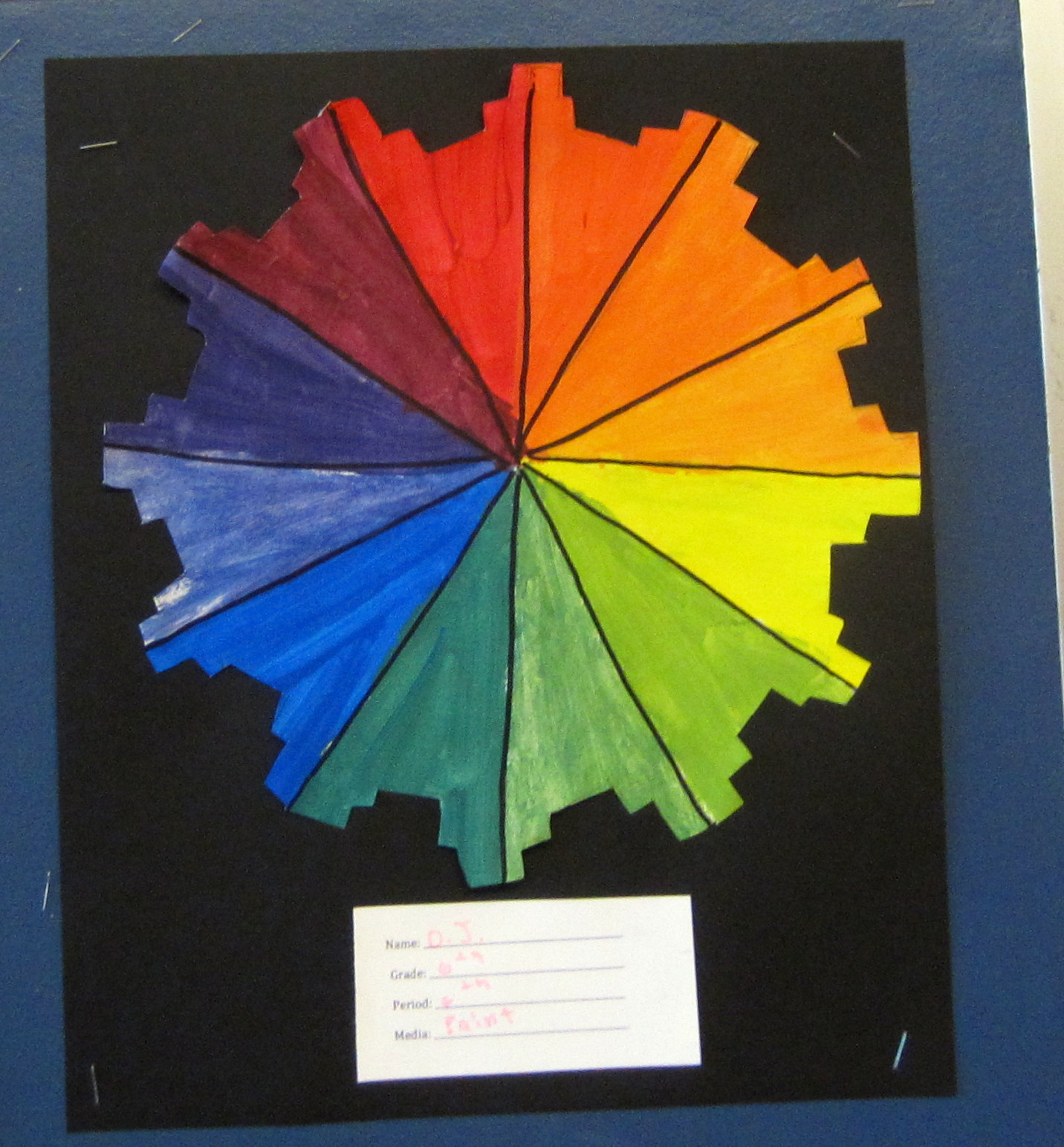Color Wheel Lesson Plan For First Grade