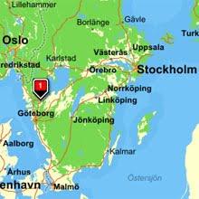 Karta Over Trollhattan Bild Karta Over Sverige Geografisk