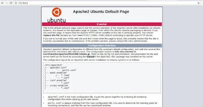 Test Apache Service