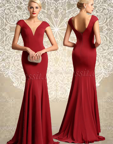 http://www.edressit.com/capped-sleeves-plunging-neckline-red-formal-dress-00161202-_p4407.html