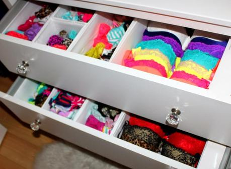 Carefully Fold And Sort All Of The Clothing In The Keep Pile. Use Drawer  Organizers To Keep Stacks Of Clothing Neat. Arrange Pieces By Like Item, ...