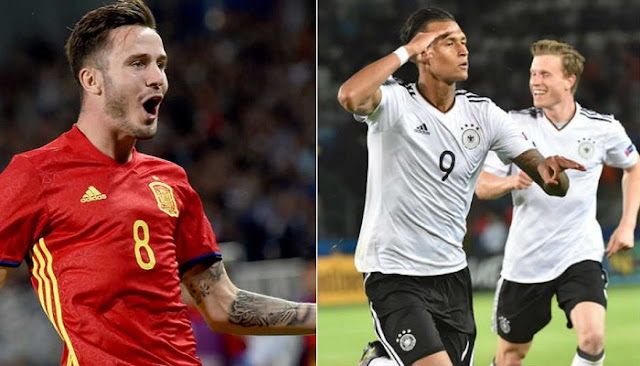 Alemania vs España en vivo Final Sub 21