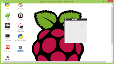 GTK+ program on Raspberry Pi