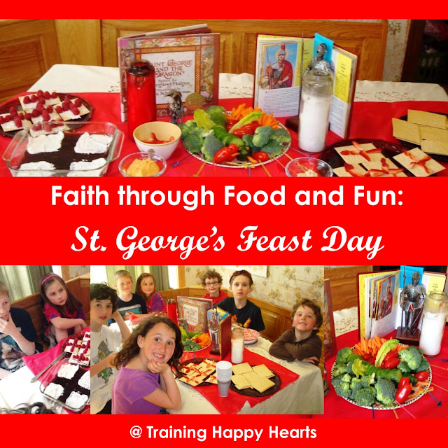 http://traininghappyhearts.blogspot.com/2016/04/celebrate-st-georges-feast-day-gfcf.html