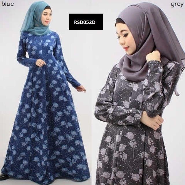 Model Gamis Batik Orang Gemuk Agar Terlihat Kurus Trend