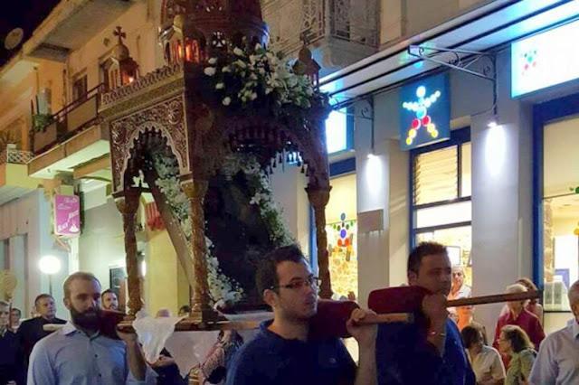 Στον ιστορικό Ναό του Αγίου Ιωάννου εορτάστηκε η Αποτομή της Τιμίας Κεφαλής Του Αγίου