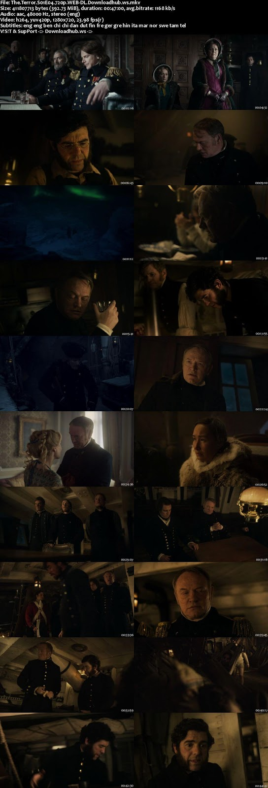 The Terror S01E04 390MB WEBRip 720p x264 MSubs