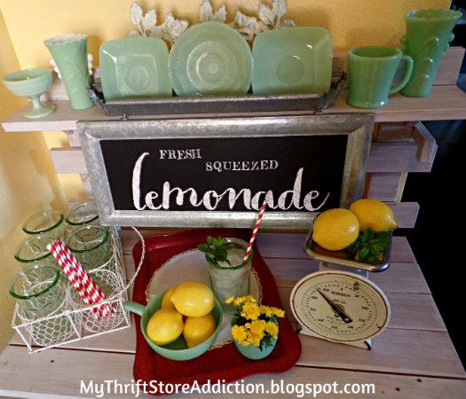 Backdoor lemonade stand