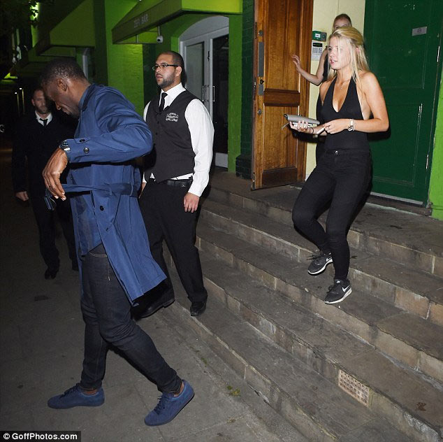 Again, Usain Bolt ditches girlfriend, parties with London escorts