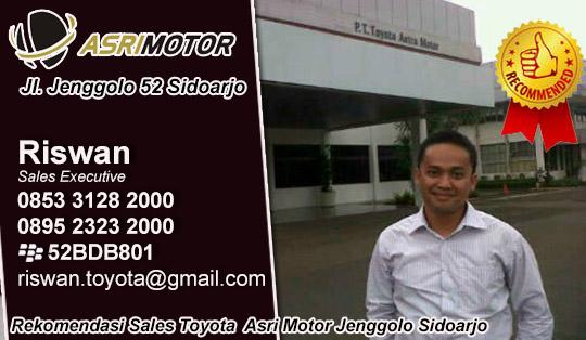 Rekomendasi Sales Toyota  Asri Motor Jenggolo Sidoarjo