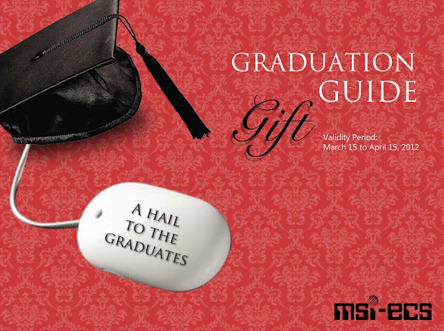 MSI-ECS' Graduation Gift Guide