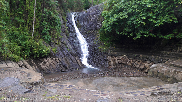 Smaller waterfall of Pulangbato Twin Falls