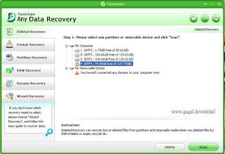 SS Tenorshare Any Data Recovery Pro