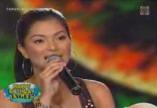 Throwback To The Day Angel Locsin Had A Duet With The 6CycleMind