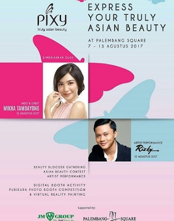 PIXY Asian Beauty Blogger Gathering 2017 Palembang