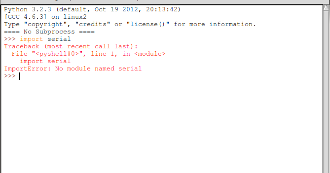 Arduino-er: Install pySerial on Ubuntu