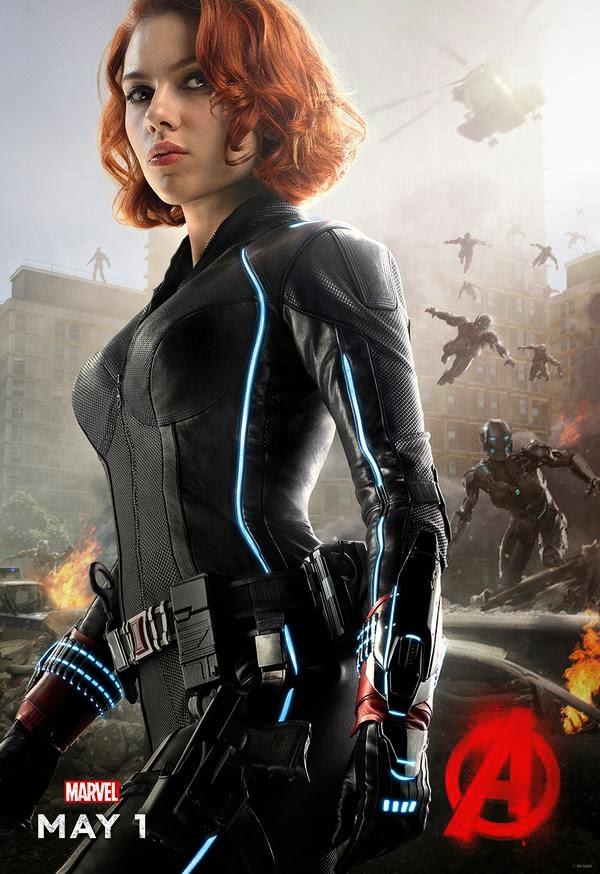 Nick Fury Natasha Romanoff And Thor Character Posters