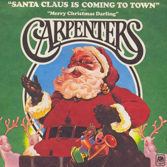 the original version is not found on any carpenters christmas disc