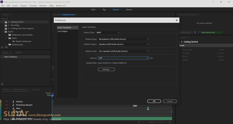 Download Adobe Character Animator CC 2019 Final Latest Version, Adobe Character Animator CC 2019 Offline Installer, Adobe Character Animator CC Registration Code