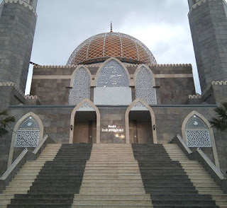 panel GRC krawangan masjid Moeldoko Jombang