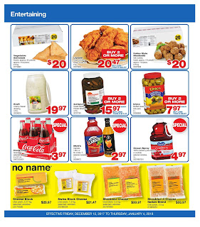 Wholesale club weekly flyer December 15 - january 4, 2018