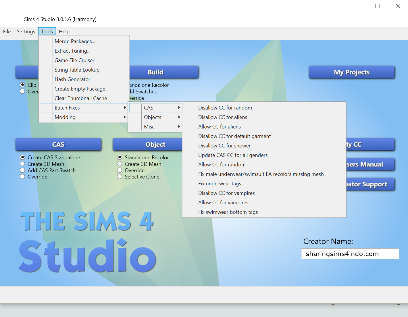the sims 4 studio download windows