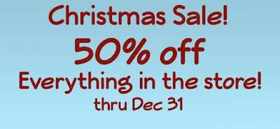 50% OFF everything at PickledPotpourri.com!