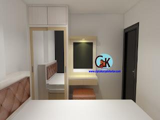 desain-interior-apartemen-gading-icon-2-bedroom