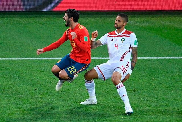 الصحافة الإسبانية تشكر تقنية الفيديو على التعادل مع المغرب
