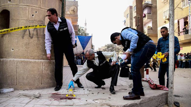 Gunman Kills 9 In Cairo