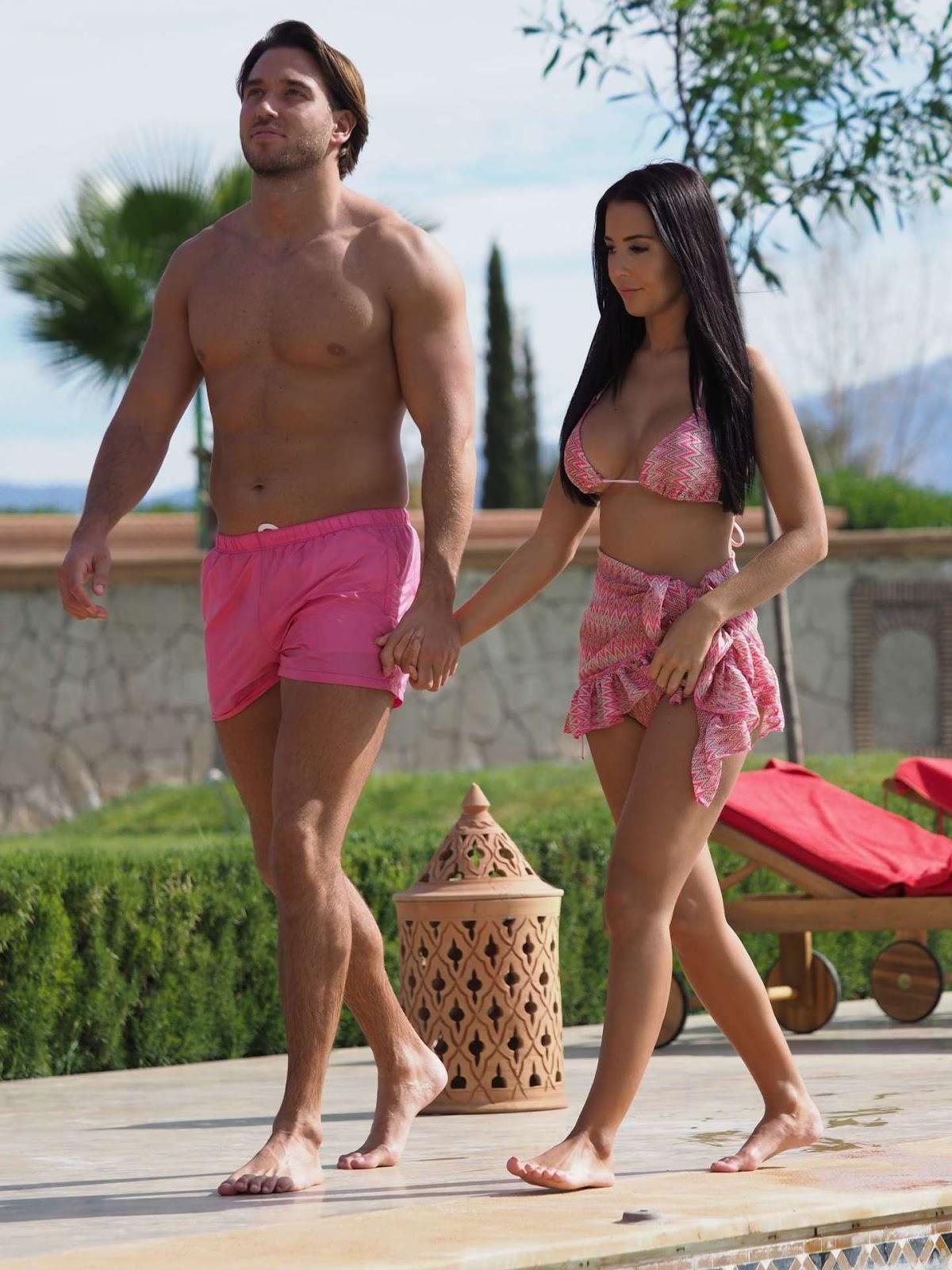 Yazmin Oukhellou in Bikini on Holiday in Morocco