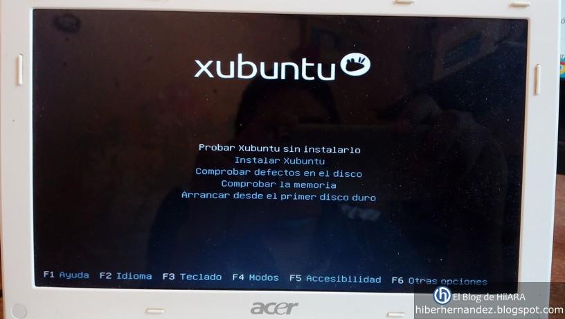 Probar Xubuntu sin instalarlo - El Blog de HiiARA