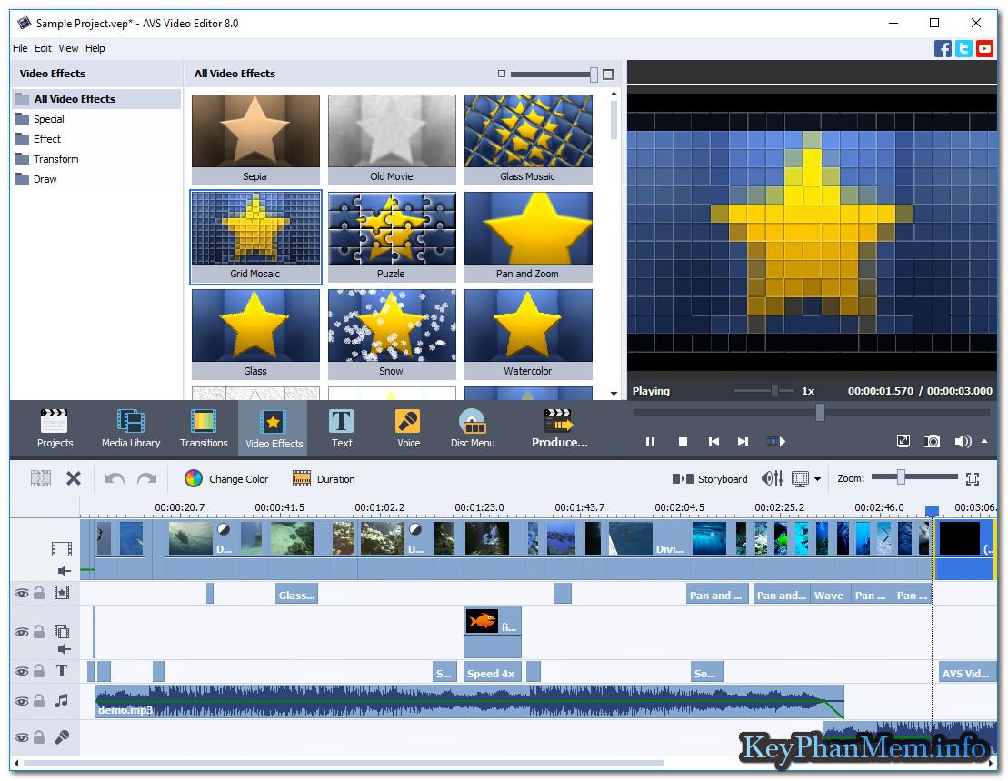 Download AVS Video Editor 8.1 Full Key ,Phần mềm biên tạp Video nhỏ gọn có võ