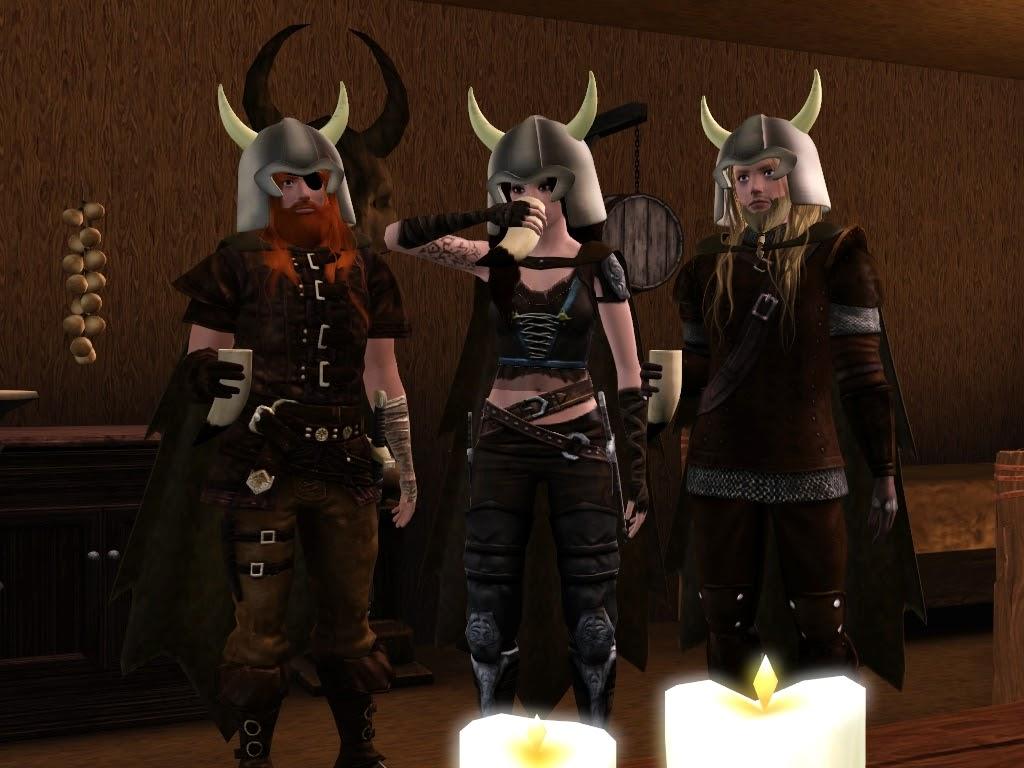 My Sims 3 Blog Viking Ship Drakkar Floating House And A