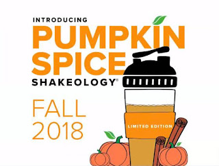 pumpkin spice shakeology, new shakeology flavor, pumpkin spice superfoods, sarah griffith,