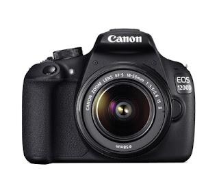 Kamera Canon 1200d