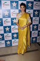Gorgeous Jacqueline Fernandez  in yellow saree 07.JPG