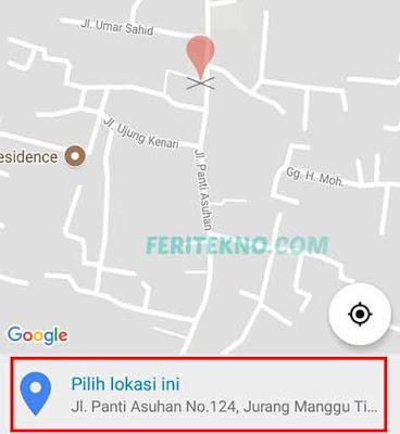 Cara Menambahkan Tempat di Google Maps Android 7