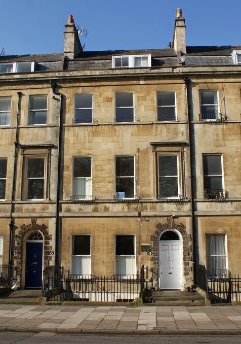 Jane Austen's home in Bath (1801-1805)