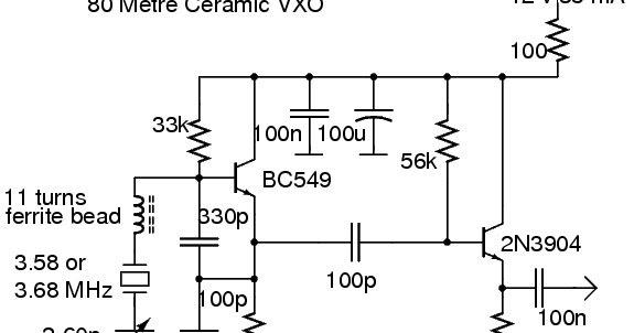 radio receivers  80m ceramic vxo