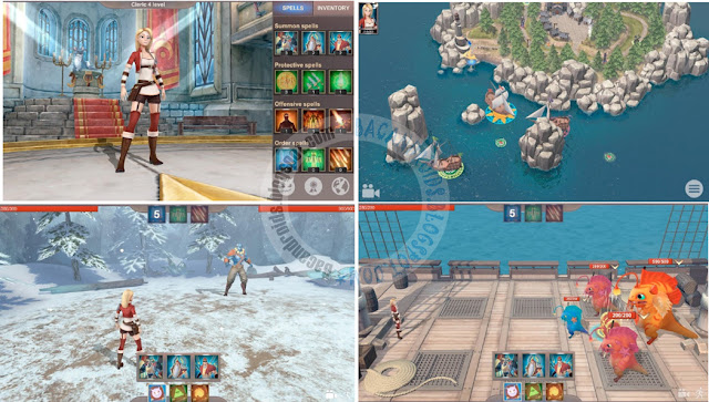 Heroes Of Arca APk Data Full Free Android  mod