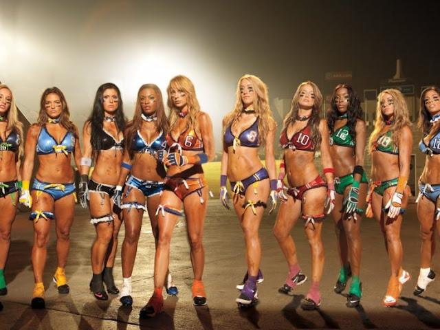25 lindas jugadoras de la Liga de Futbol en Lencería