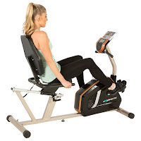 Exerpeutic GOLD 975XBT Recumbent Exercise Bike, review features compared with Exerpeutic GOLD 525XLR