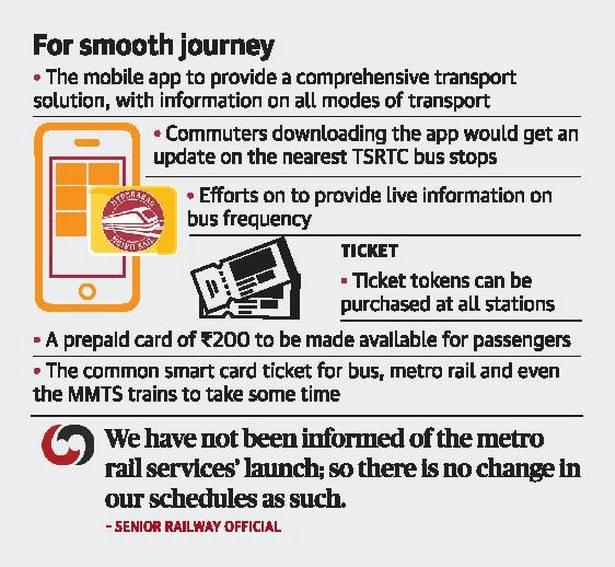 """TSavaari"" Android App and IOS Download Apk For Hyderabad Metro Rail Passengers From 28th November"