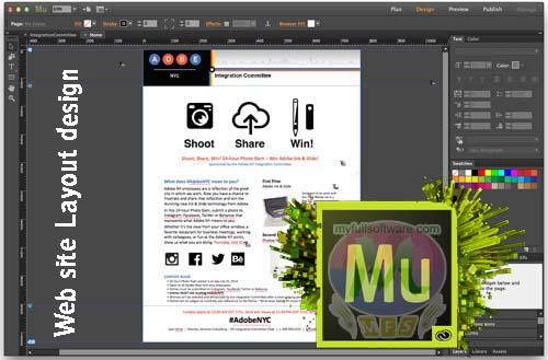 Software Update Adobe Muse Cc 2015 Web Designer Program Activator Patch Download
