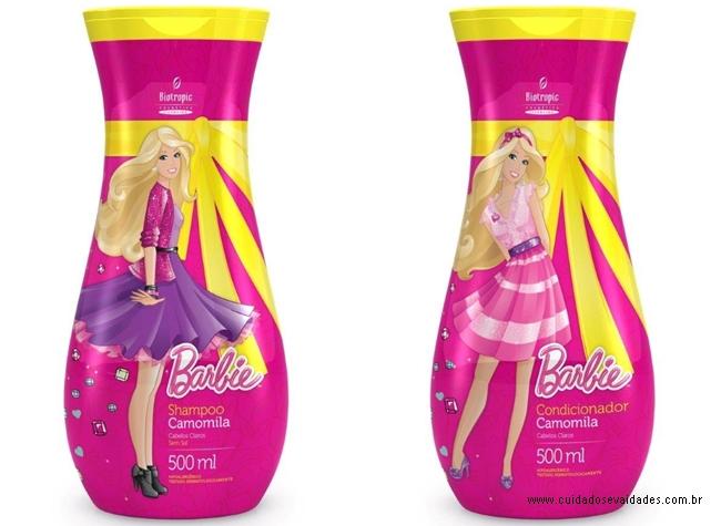 Shampoo Barbie Camomila Cabelos Claros